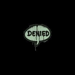 Sealed Graffiti | Denied (Cash Green)