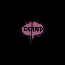 Sealed Graffiti | Denied (Princess Pink)