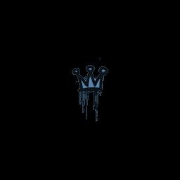 Sealed Graffiti | Little Crown (Monarch Blue)