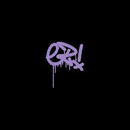 Sealed Graffiti | Little EZ (Violent Violet)