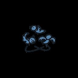 Sealed Graffiti | Dizzy (Monarch Blue)