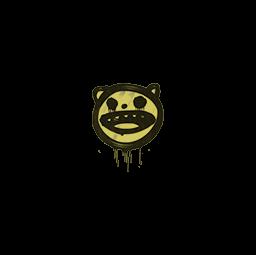 Sealed Graffiti   Happy Cat (Tracer Yellow)