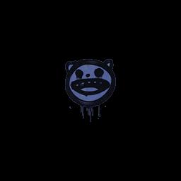 Sealed Graffiti | Happy Cat (SWAT Blue)