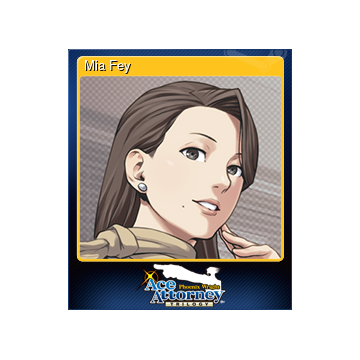 Mia Fey : She is introduced as phoenix's boss and mentor in her debut episode/chapter.